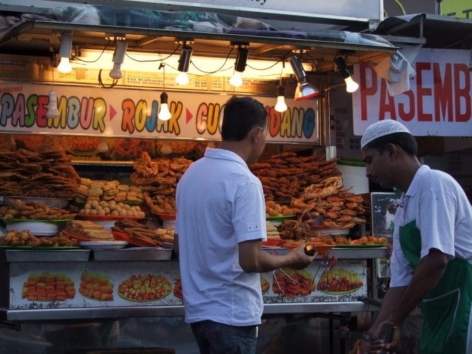 stand bouffe gurney drive hawker centre penang malaisie