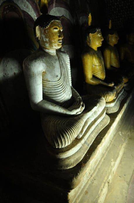 grotte dambulla temple occidental - sri lanka