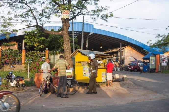 marché de dambulla - sri lanka