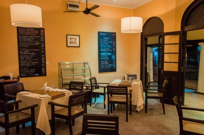 restaurant proche dambulla cave - sri lanka