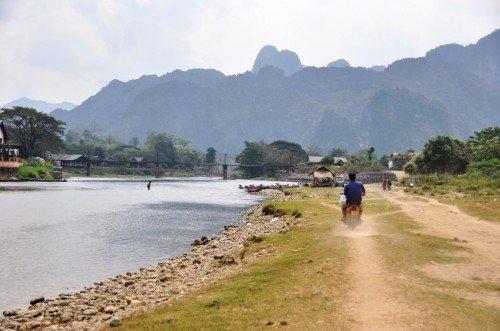 14-Decouverte de Vang Vieng Laos