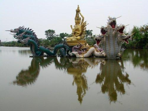 BodhisattvaAvalokitesvara (Kuan-Yin).