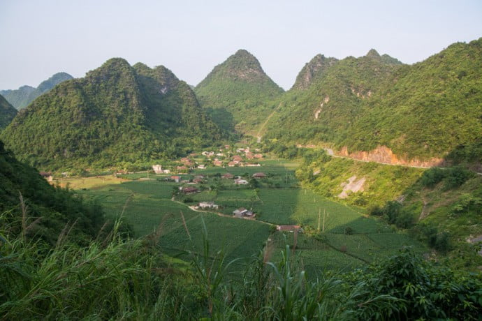 roadtrip moto nord vietnam bac son
