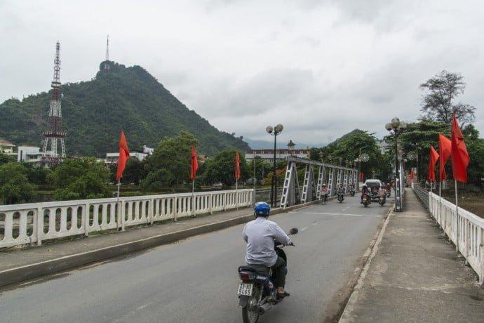 un pont a Ha Giang
