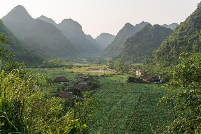 environs de Bac Son - nord Vietnam