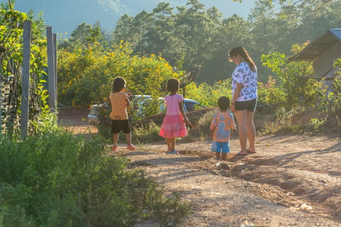 montagne Chiang Dao - Thaïlande