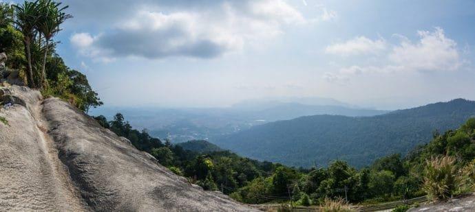 vue depuis gunung raya - langkawi
