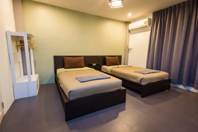 chambre white monkey guesthouse phetchaburi