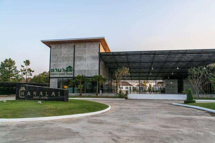 channalai resort - si satchanalai - thailande