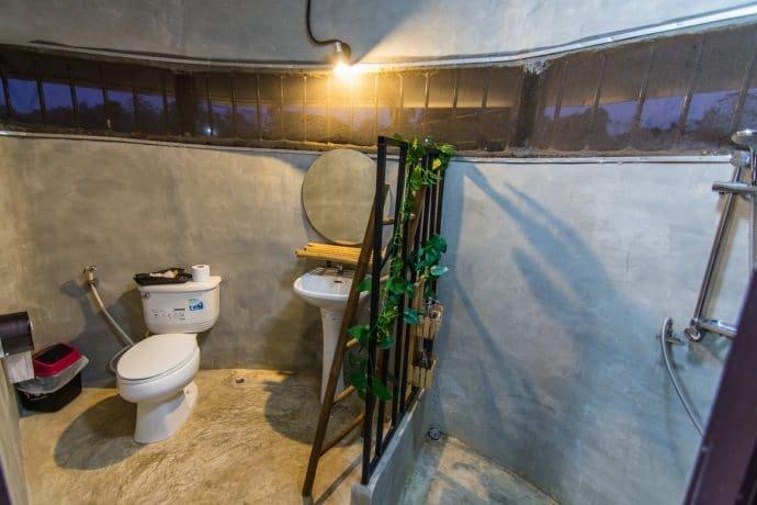 salle de bain naracha resort - sukhothai - thailande