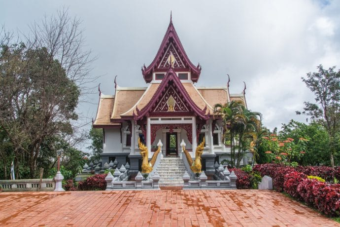 temple sommet mae salong - thailande