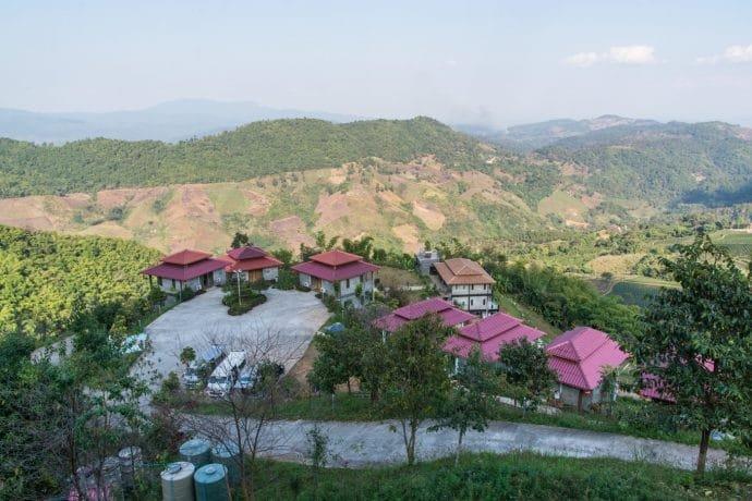 vue du phumektawan resort
