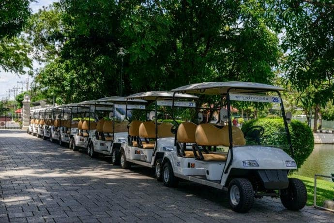 bang pa voiturette golf cart