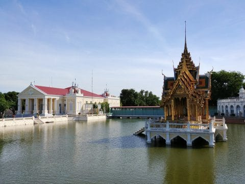 palais bang pa in - thailande