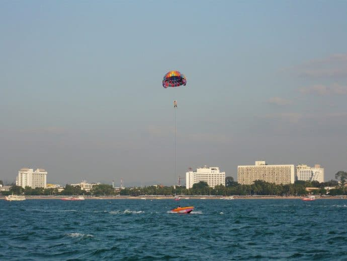 parachute ascensionnel pattaya