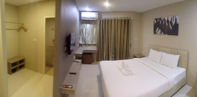 chambre the coconut hotel lampang