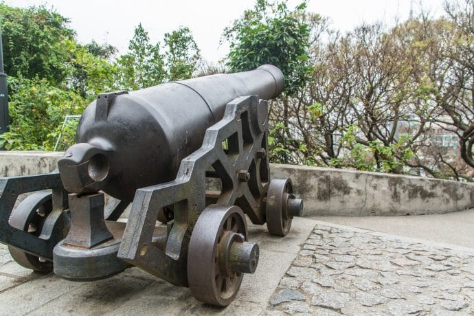 canon fort monte - macao