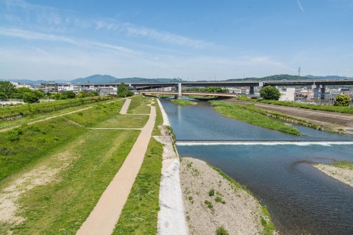 paysage de kyoto vers la jaf