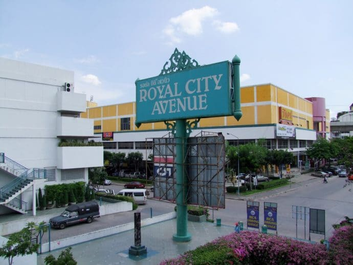 royal city avenue bangkok