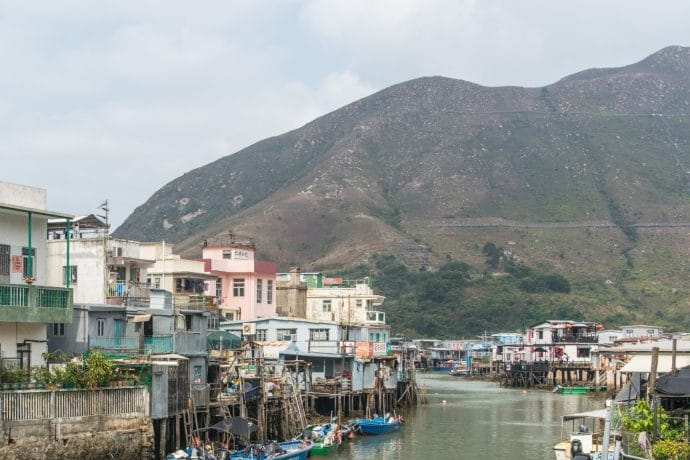 village de tai o - hong kong - lantau island