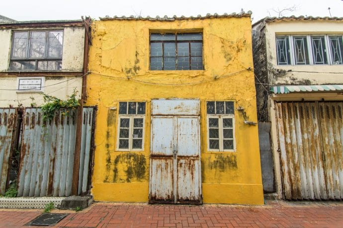facade village coloane - macao