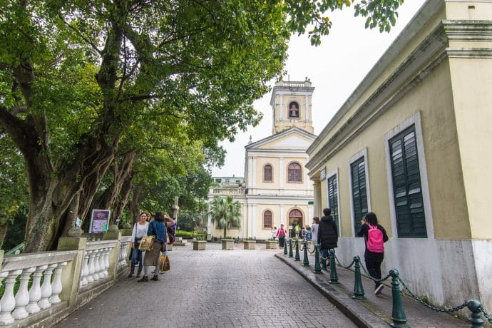 our lady of carmel church taipa - macao