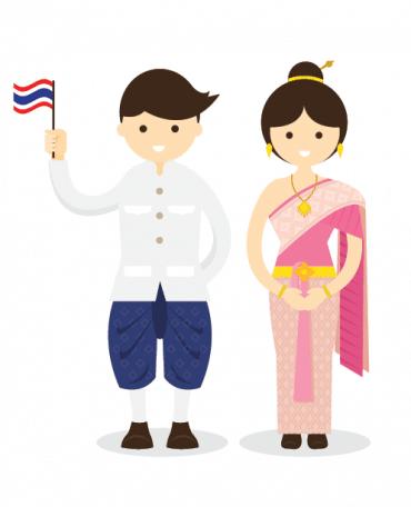 personnage guide pratique thailande
