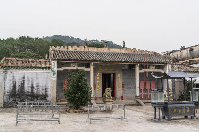 temple tin hau village coloane - macao