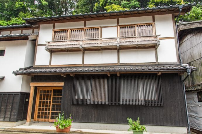 maison au village ine - japon