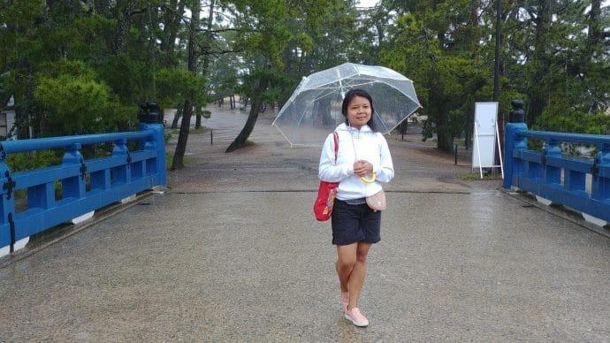 photo sous la pluie amanoshidate - japon
