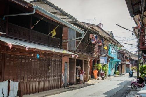 village nong bua - chanthaburi - thailande