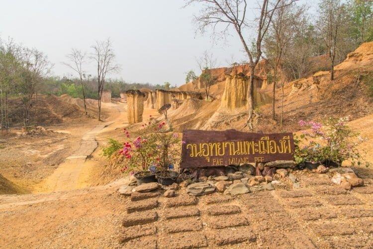 mueang phi province phrae - thailande