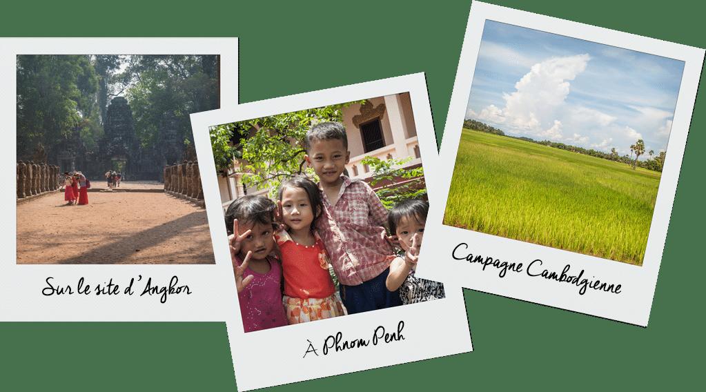 différentes facettes du Cambodge
