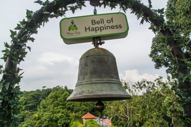 bell of happiness southern ridges - singapour