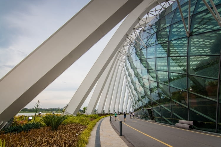 cloud forest dome gardens by the bay singapour