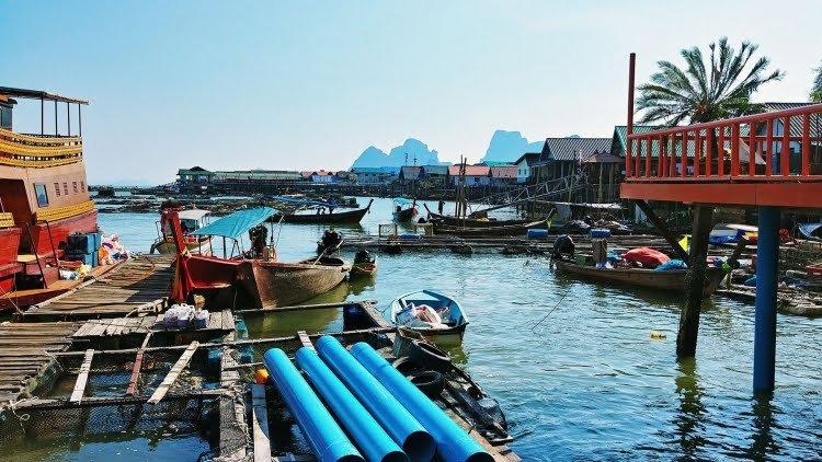 debarquement sur ko panyi baie phang nga - thailande