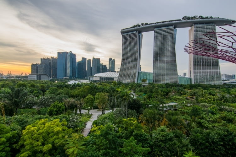marina gardens by the bay singapour