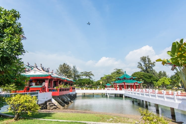 temple chinois dabo gong - kusu island singapour