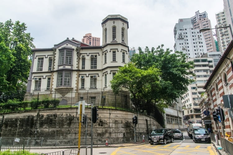 bishops house - hong kong
