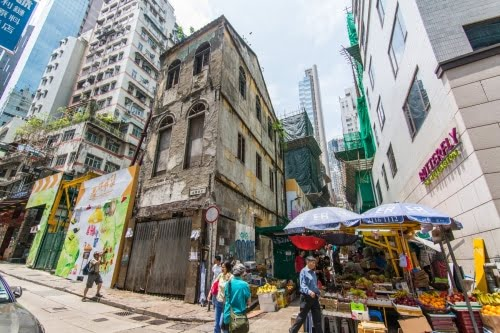 graham street - hong kong