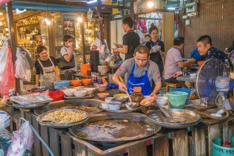 restaurant marché chatuchak weekend bangkok