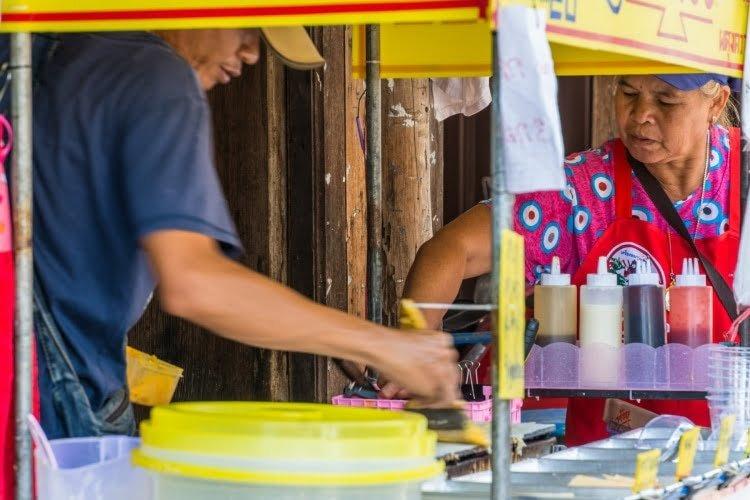 street food - chanthaburi - thailande