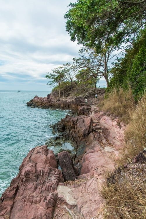 chemin littoral kung krabaeng wildlife sanctuary - chao lao - chanthaburi