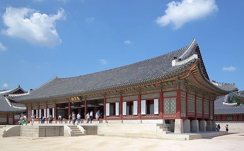 hall gangnyeongjeon palais gyeongbokgung seoul
